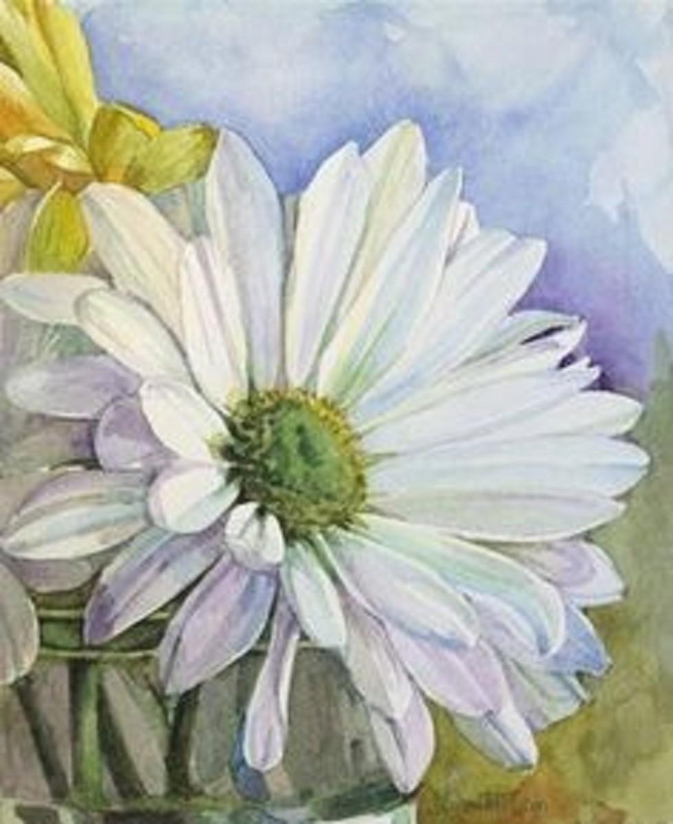 Joanna Olson, watercolor painter.