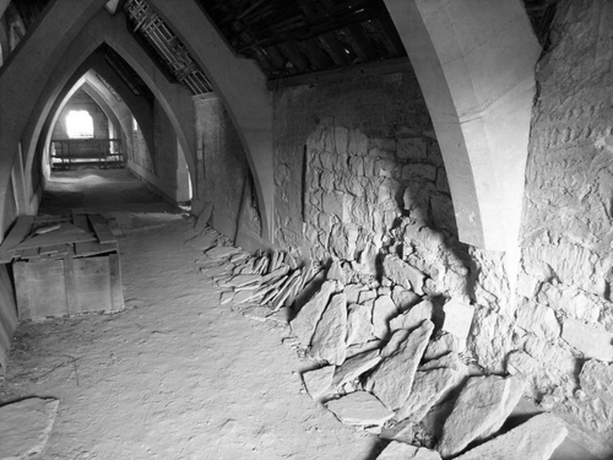 The Mystery of Woodchester Mansion: Not All Ghosts at Woodchester Like Visitors!