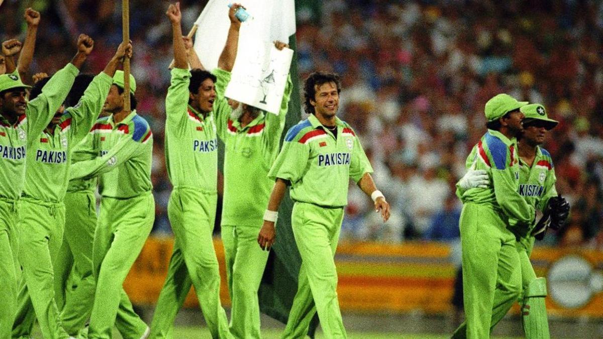 1992 Champions: Pakistan.