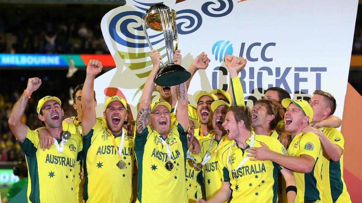 2015 Champions: Australia.