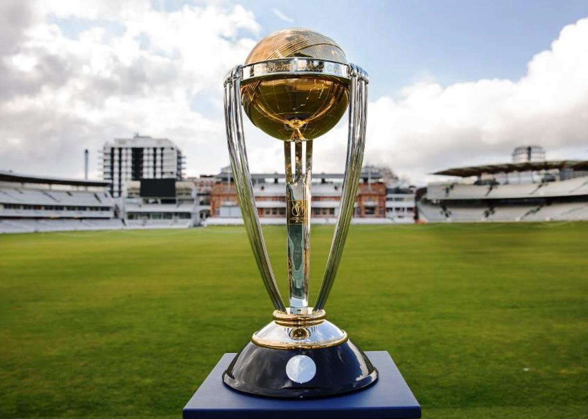 ICC Cricket World Cup 2019 trophy.