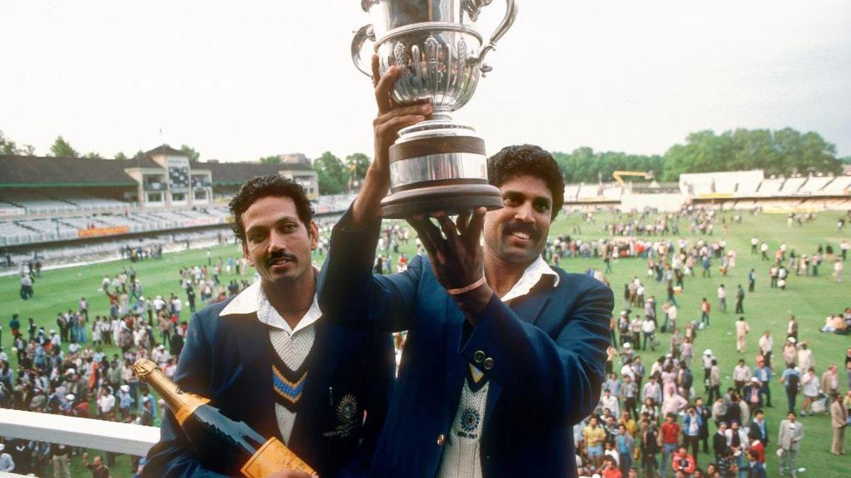 1983 Champions: India.