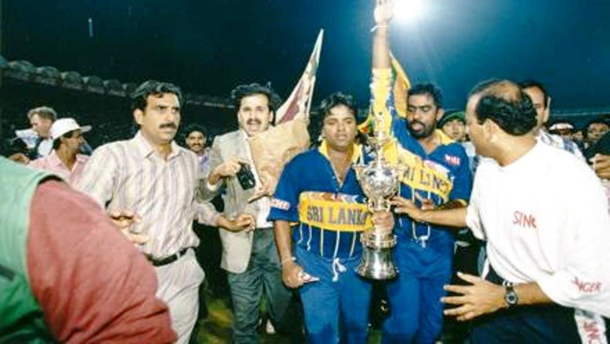 1996 Champions: Sri Lanka.
