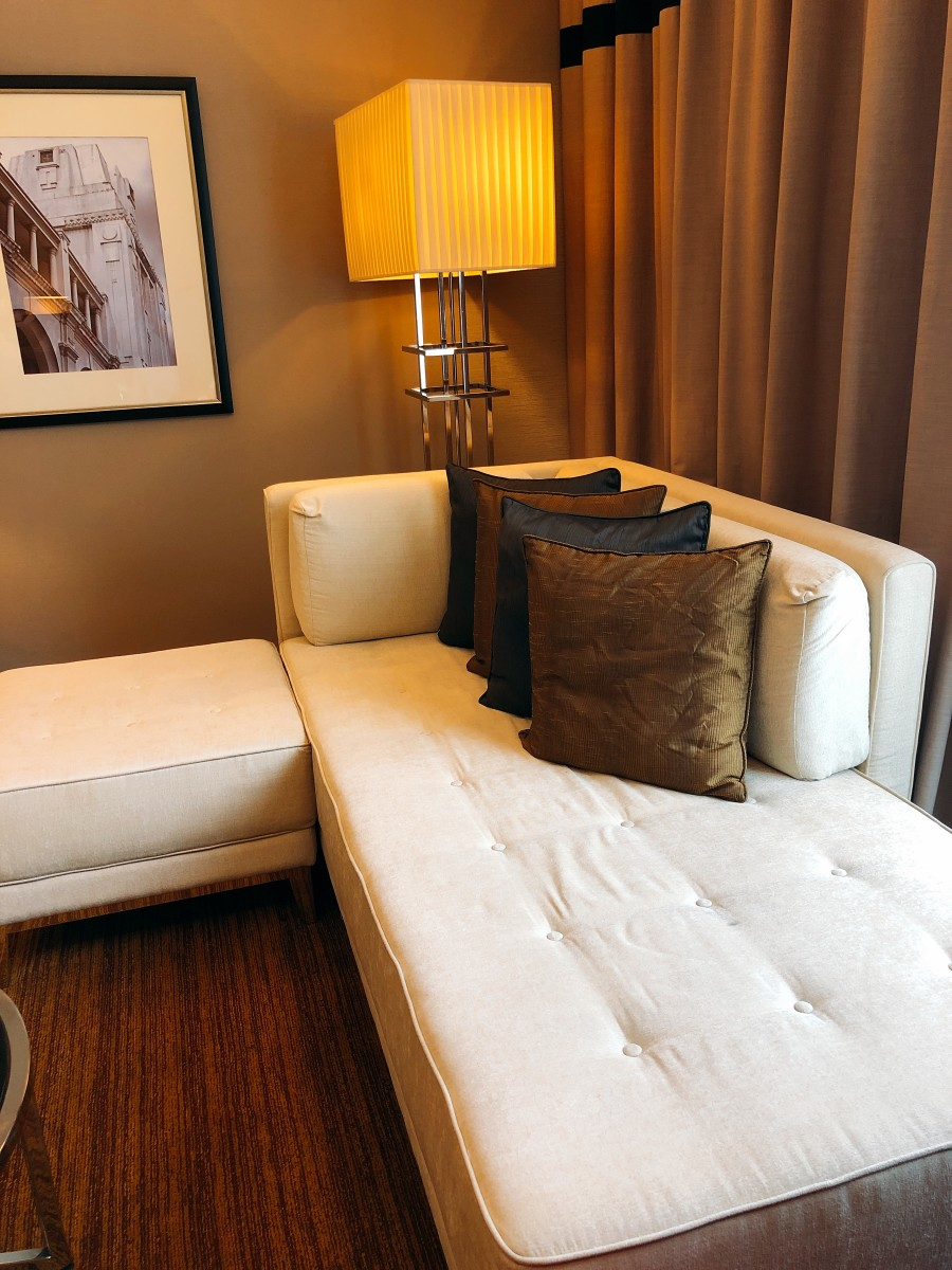A nice way to relax yourself on the sofa while reading a book or watching tv.