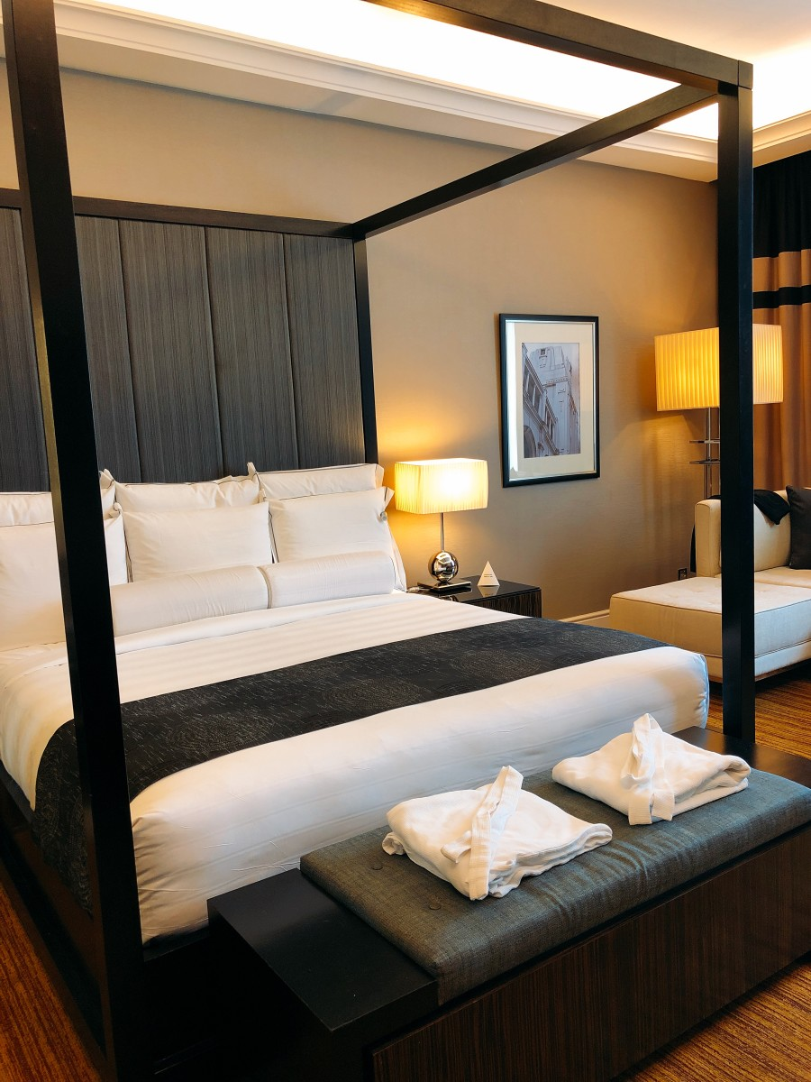 Spacious and outstanding room with comfortable bed.