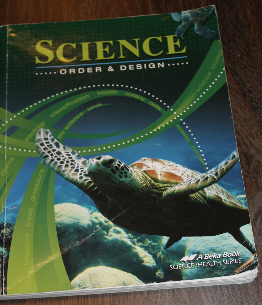 A Beka's Science: Order & Design science textbook