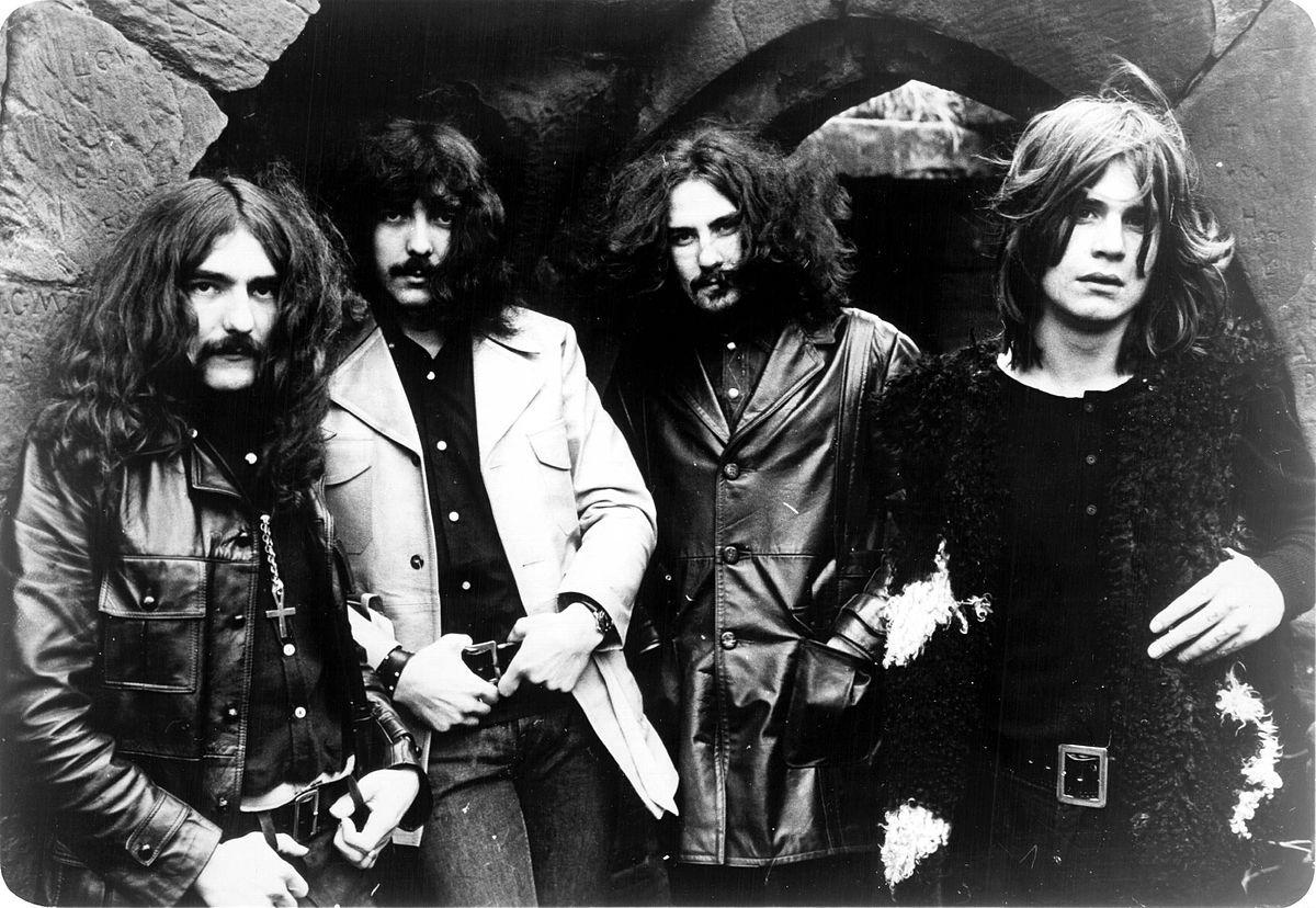 Geezer Butler, Tony Iommi, Bill Ward, and Ozzy Osbourne - Black Sabbath.