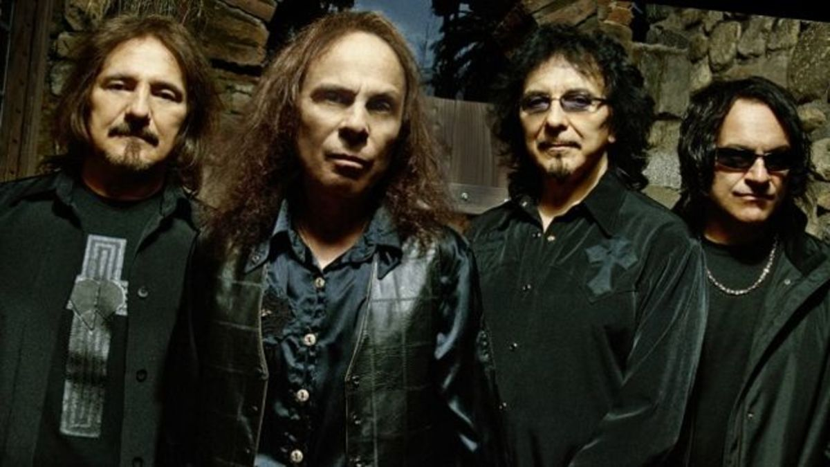 Geezer Butler, Ronnie James Dio, Tony Iommi, and Vinny Appice - Black Sabbath.