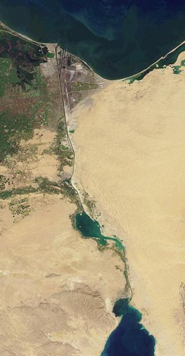 The Suez Canal the ultimate prize for the Axis powers in North Africa which opened the gateway to Asia.