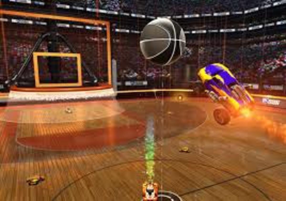 Basket Ball (Hoops) in Rocket League