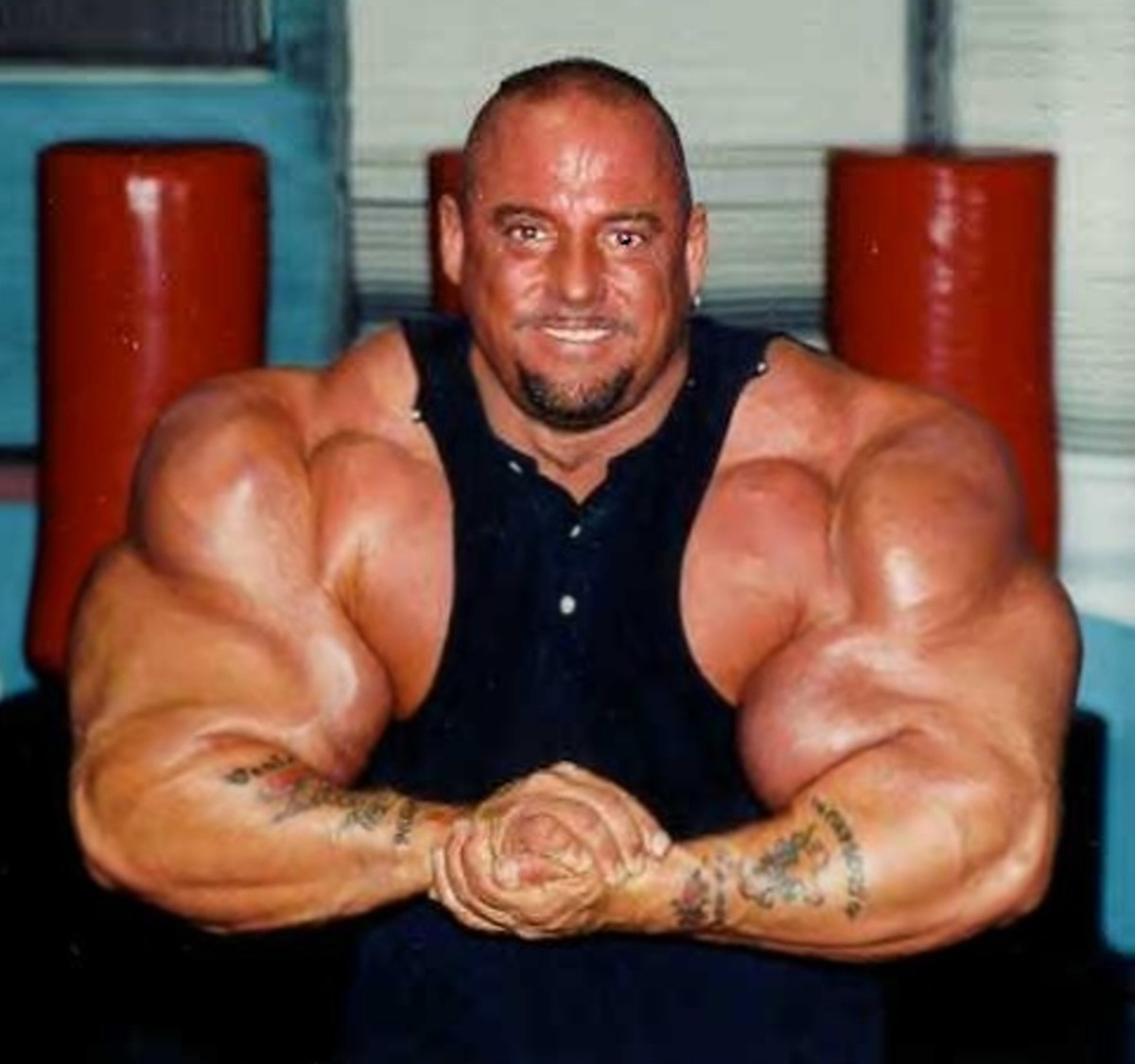 Those guns could be amazing, if not for steroids.