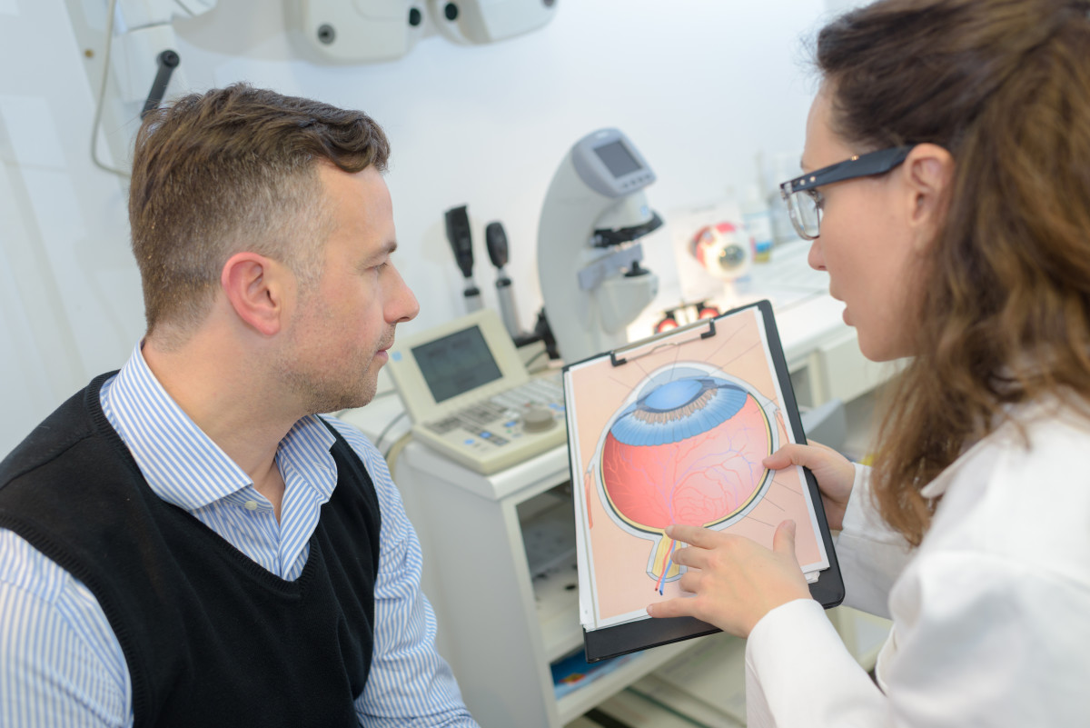Eye exam: Glaucoma diagnosis and detection