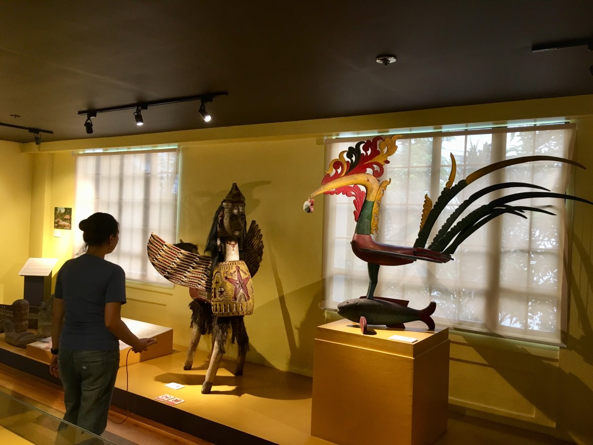 Pieces displayed at the Faith, Tradition and Place: Bangsamoro Art from the National Ethnographic Collection