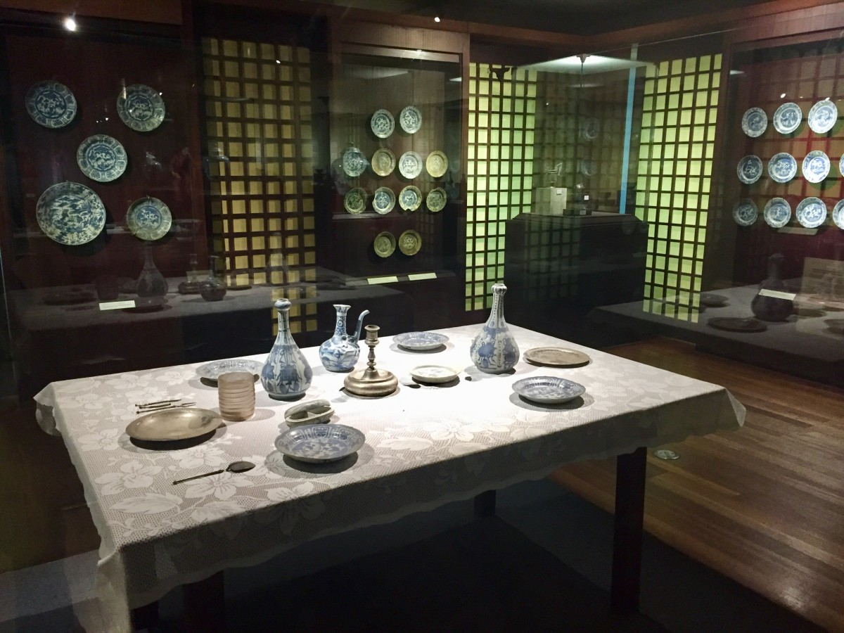 Pieces displayed at The San Diego: 500 Years of Maritime Trade