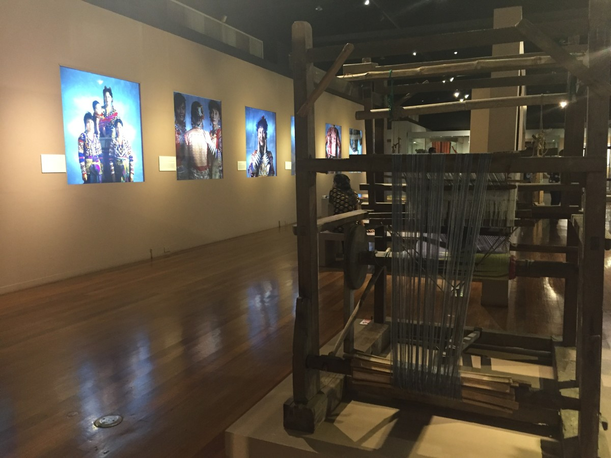 "Pieces displayed at the ""Hibla ng Lahing Filipino:"" The Artistry of Philippine Textiles"