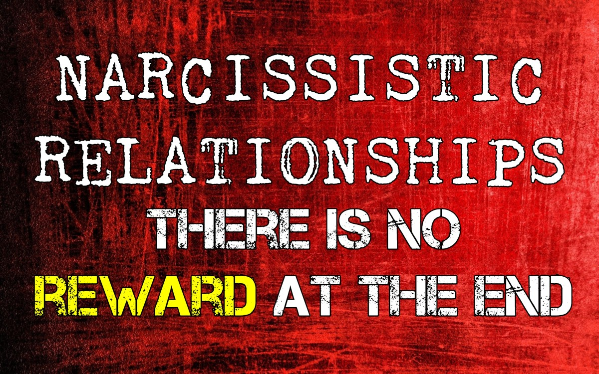 Narcissistic Relationships: There Is No Reward At The End