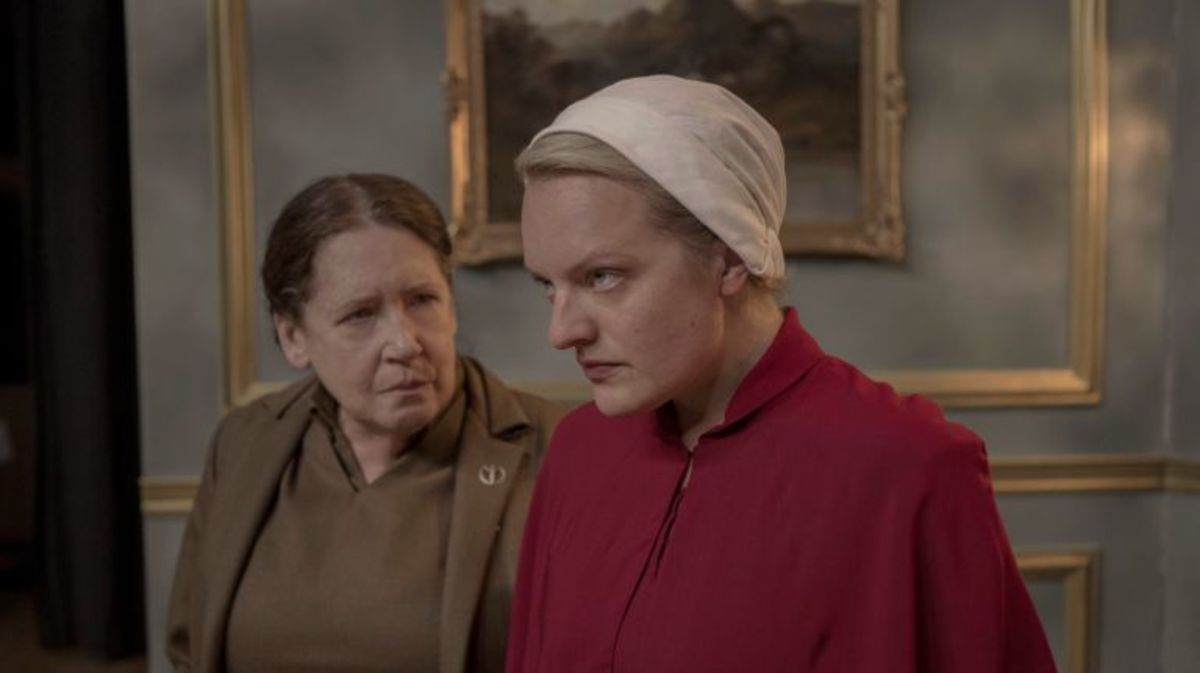Aunt Lydia  and June