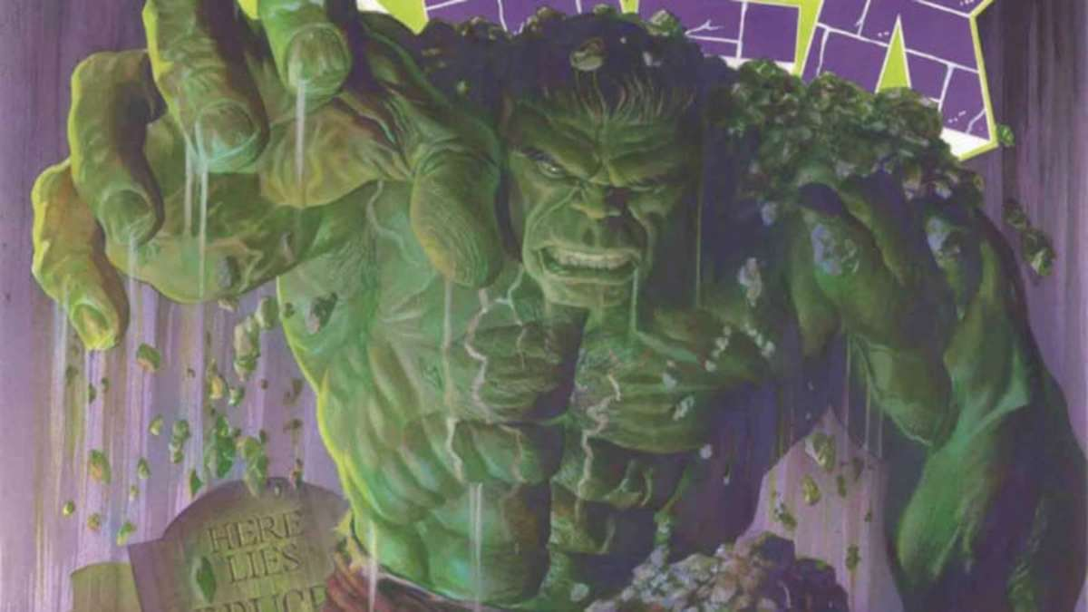 Sample of the cover of The Immortal Hulk, Vol. 1.