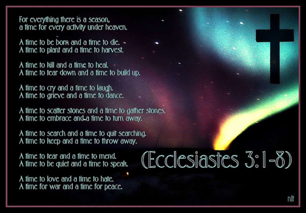 Ecclesiastes 3:1 to 3:14
