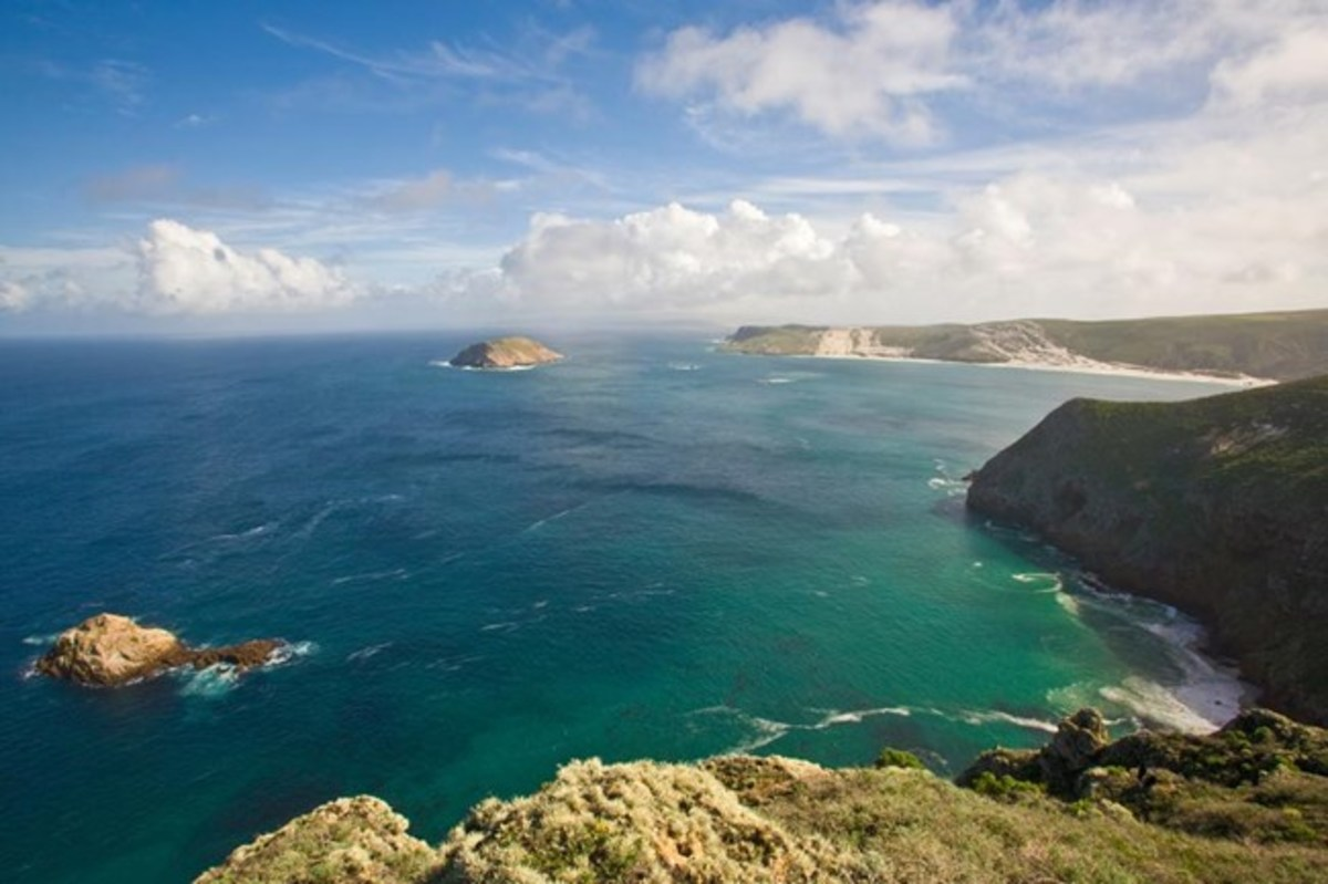 San Miguel Island in the Channel Islands of California