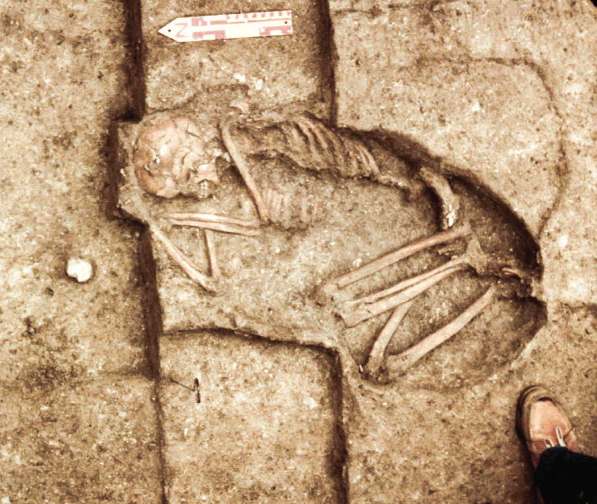Leanderthal Lady as she was found