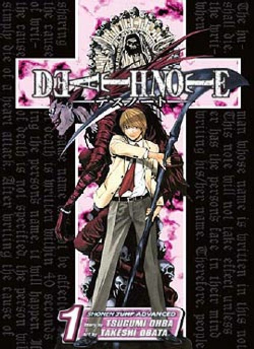 Death Note Manga volume 1 cover.