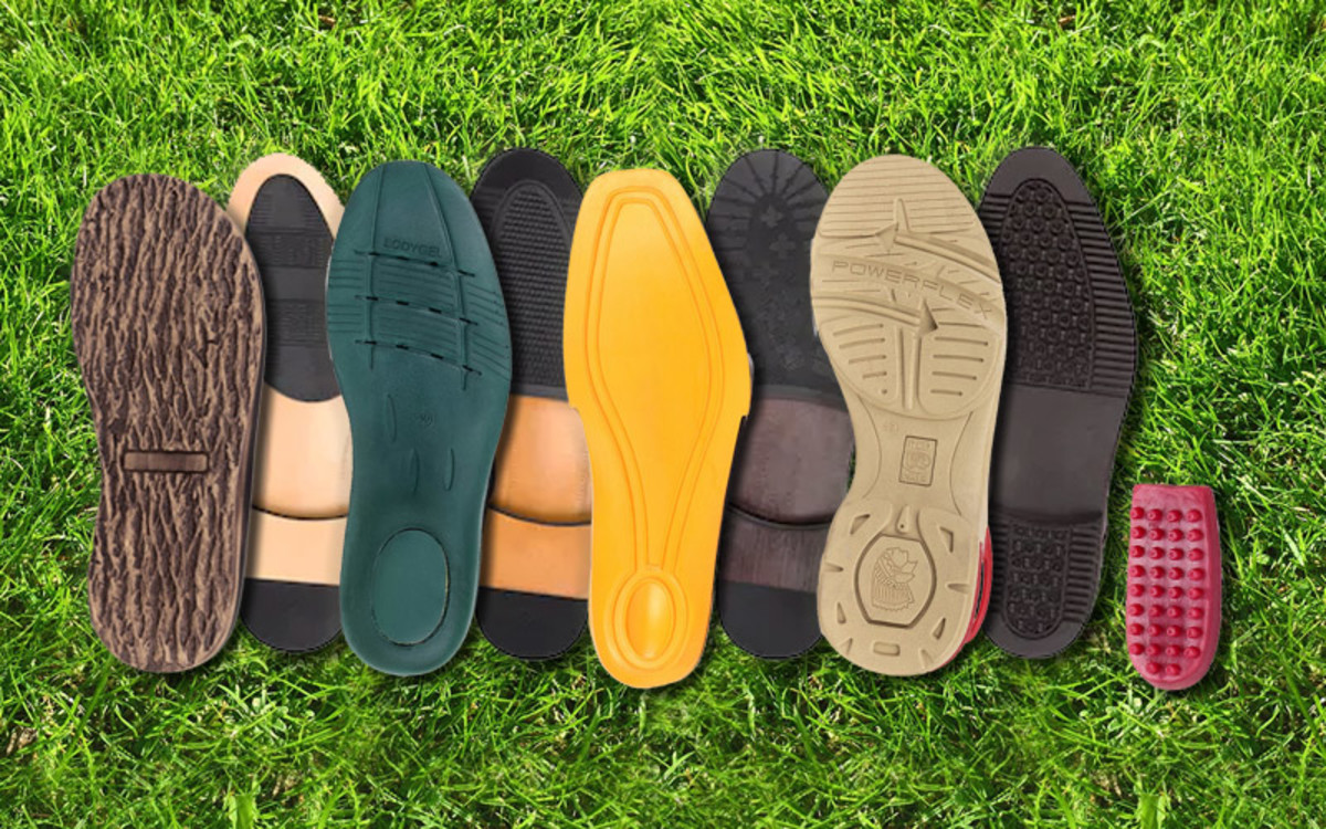 Different types of Sole material and their unique advantages