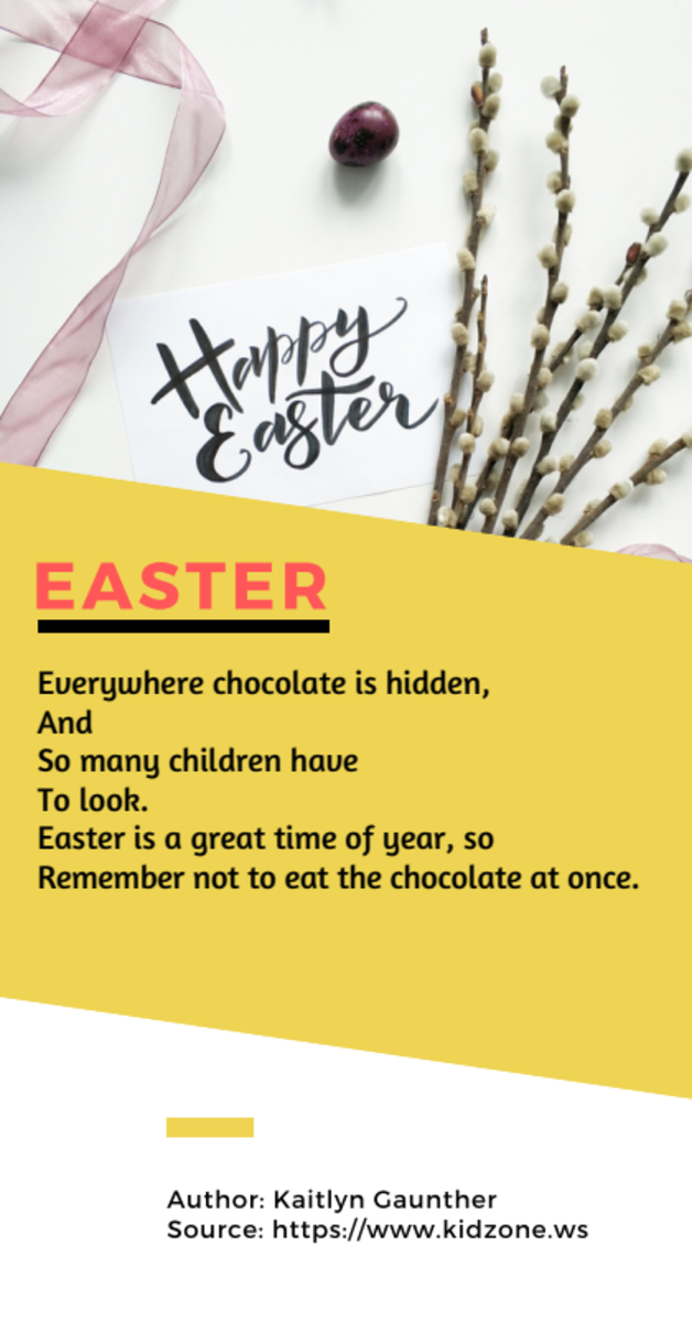 Acrostic Poem about Easter