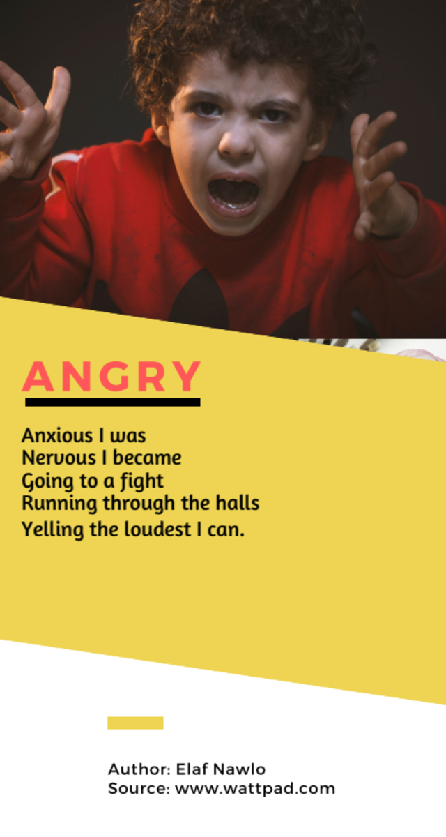 Acrostic Poem about Angry