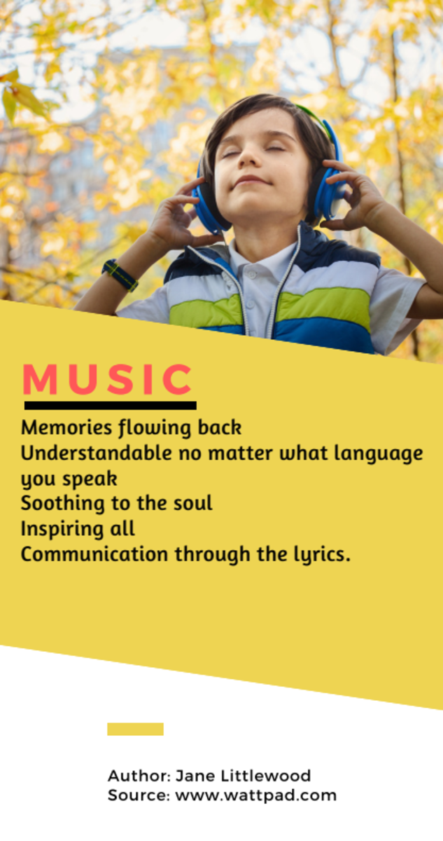 Acrostic Poem about Music