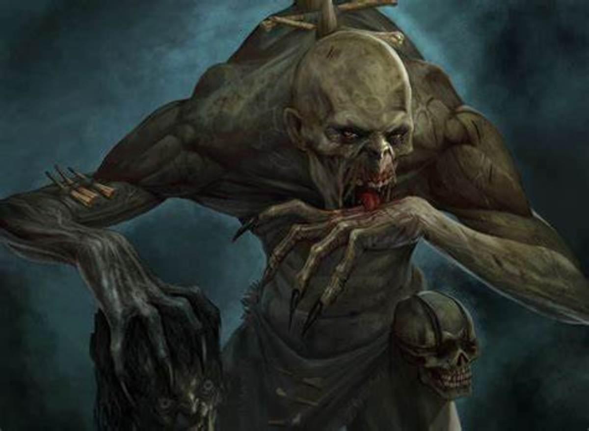 Mythological Vampire