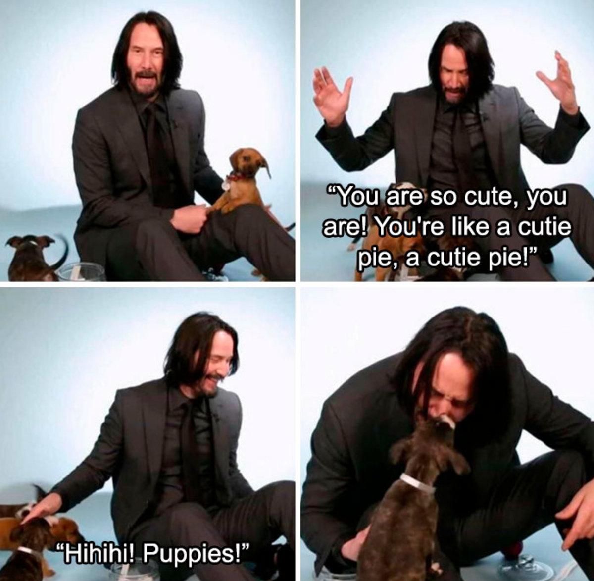 Five Reasons Why Keanu Reeves Is Basically Jesus