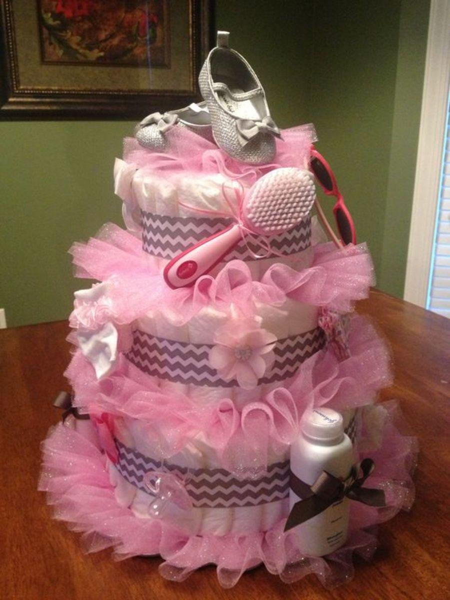 Tutu Diaper Cake