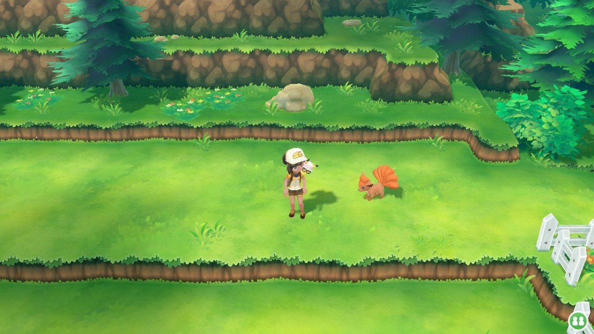 How to get Vulpix in Let's Go Pikachu