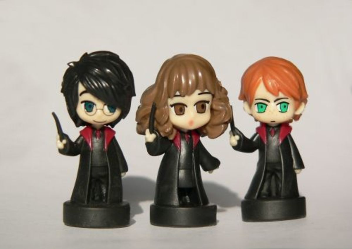 Harry, Ron, Hermione: The Magic-Trio