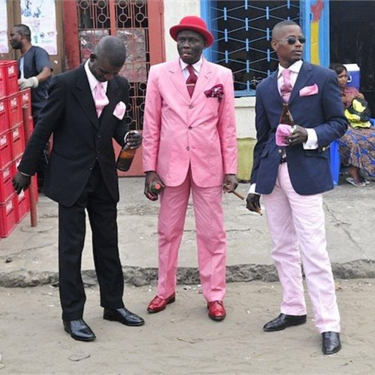 The Fashion Dandies of Congo