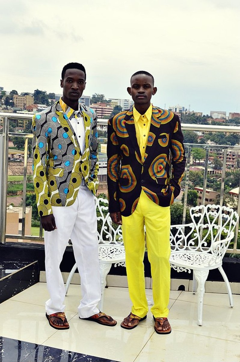 La Sape style finds its way to Uganda.
