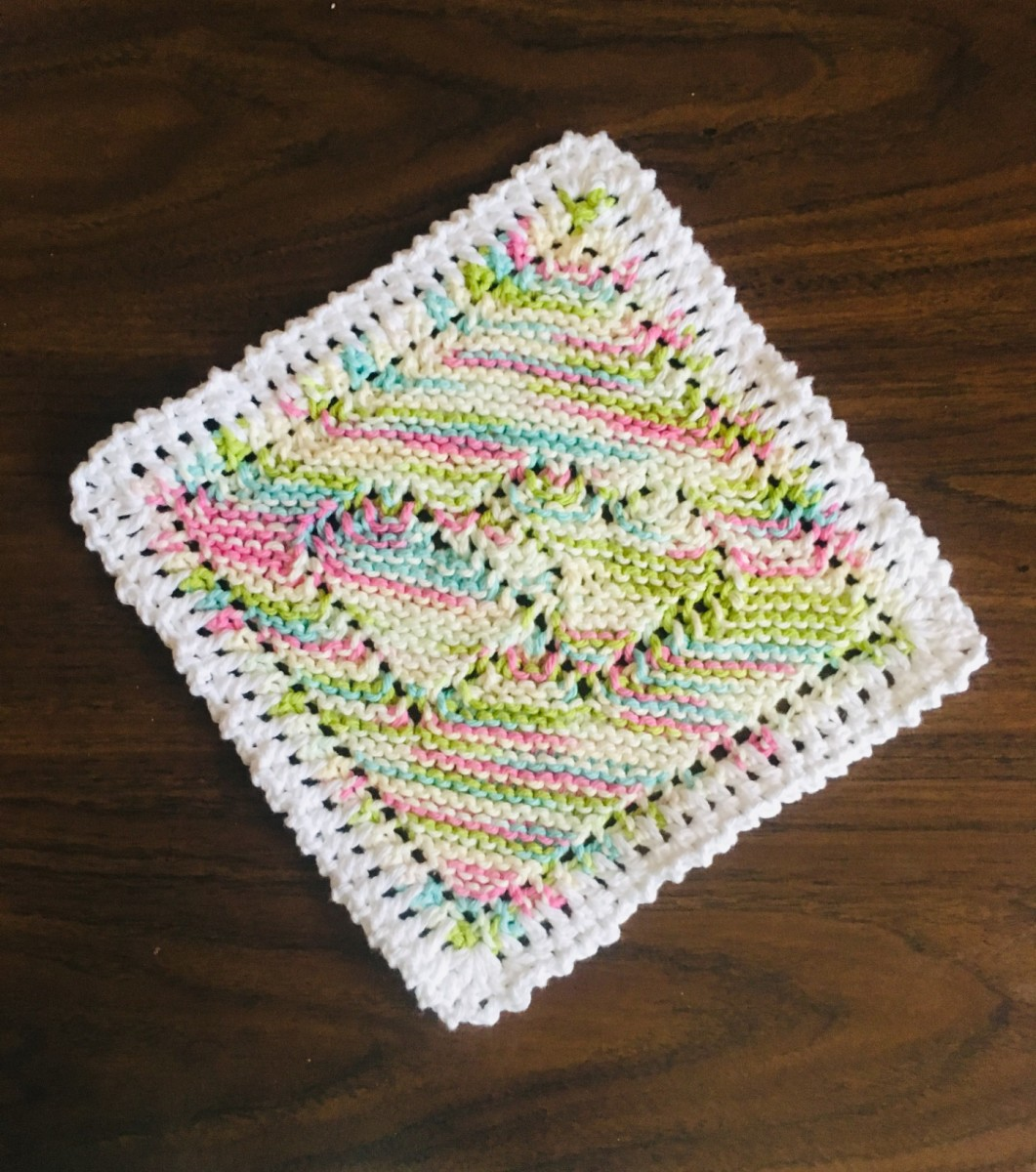 A Contrasting Border Can Add A Delightful Accent To Knit And Crochet Pieces