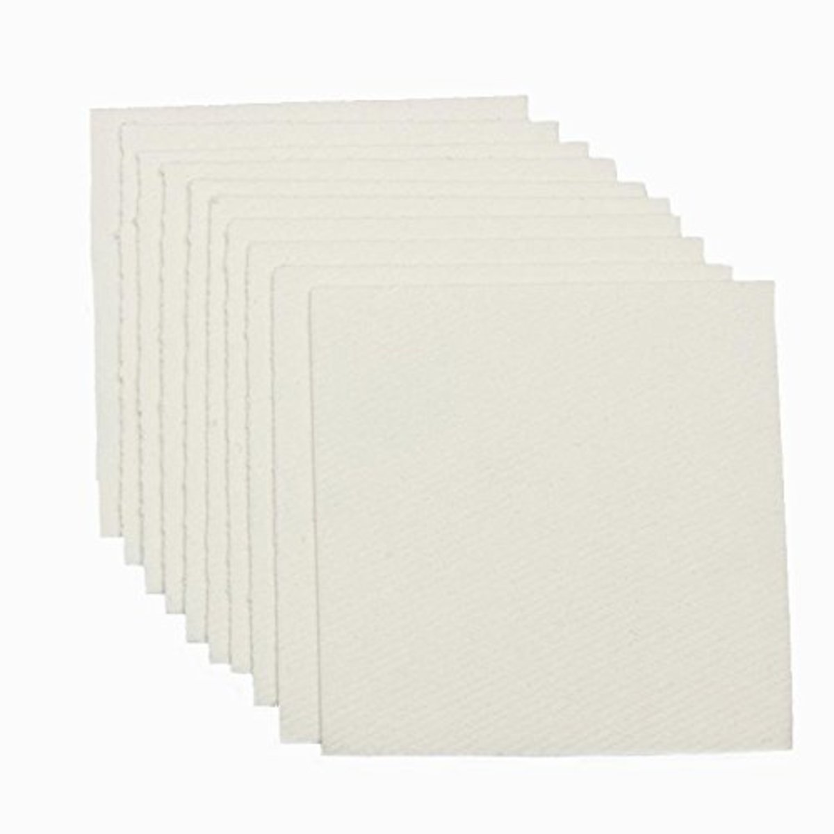 """50  Kiln Shelf Papers 2 1/2"""" X 2 1/2""""  for Microwave Kilns -cost, about $9 on Amazon"""