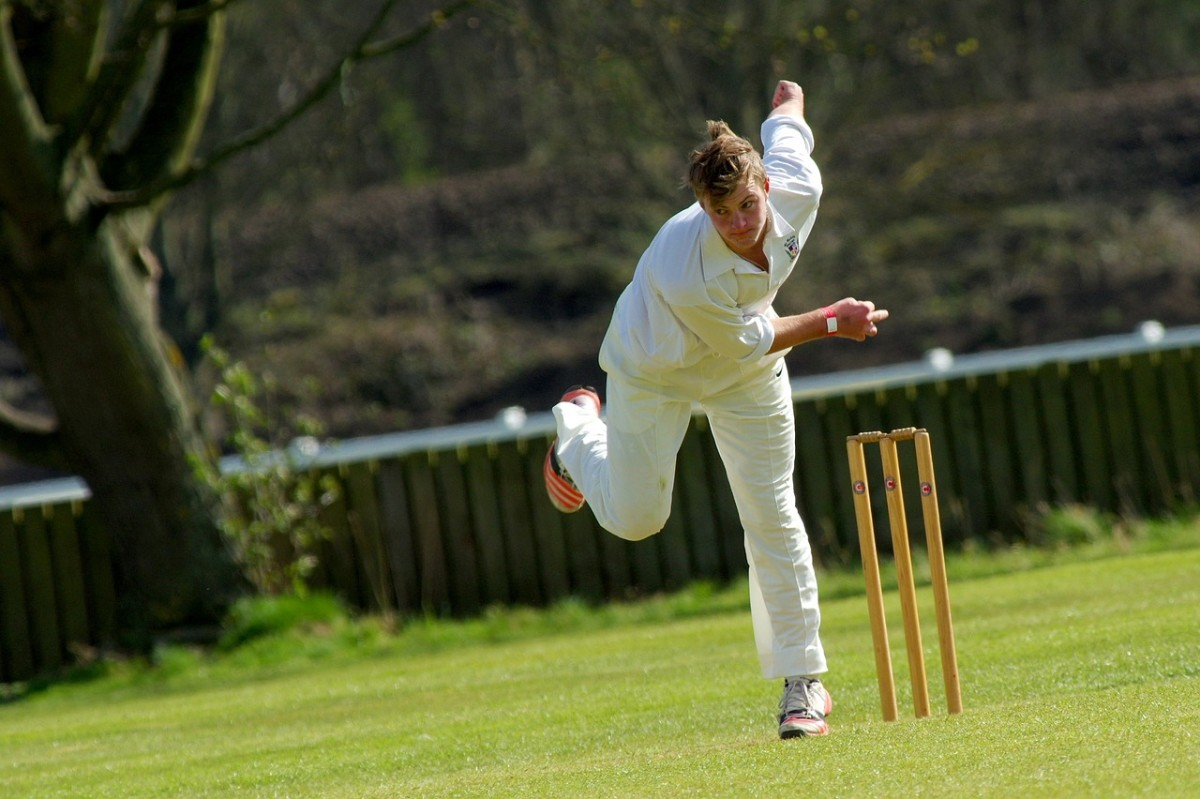 Bowler, Cricket, Image by Lisa scott from Pixabay