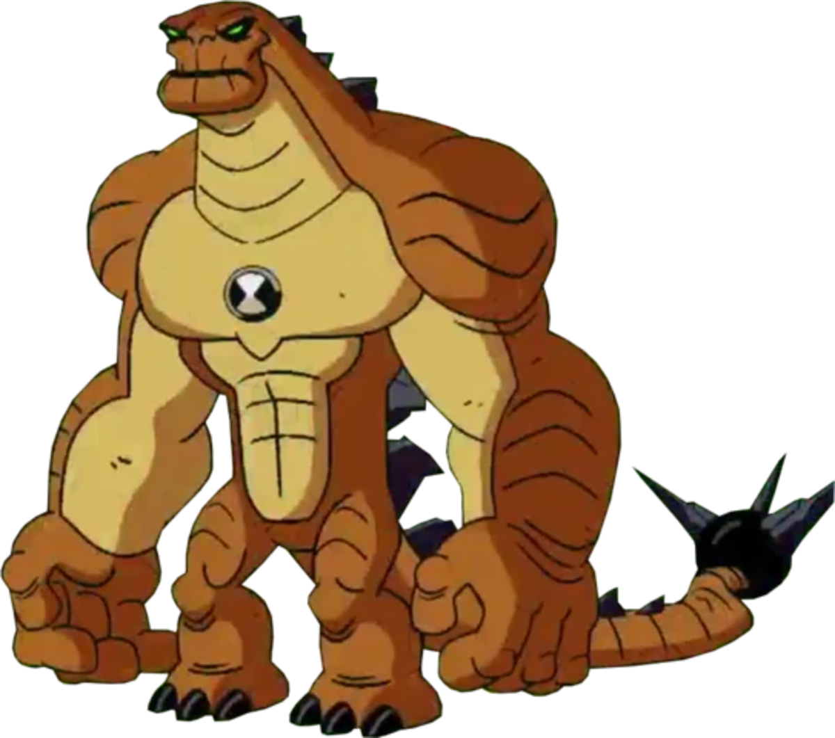 Humongousaur's appearance in the 2016 reboot of Ben 10.