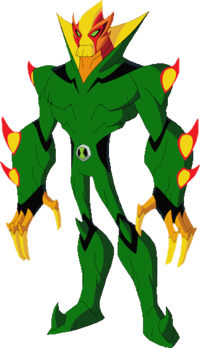 Swampfire's new appearance in Ben 10: Omniverse.