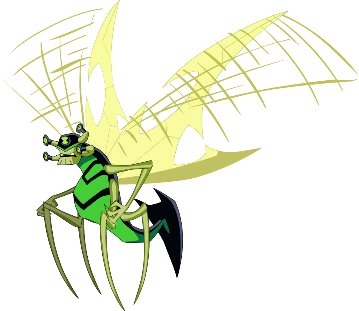 Stinkfly's appearance in Ben 10: Omniverse.