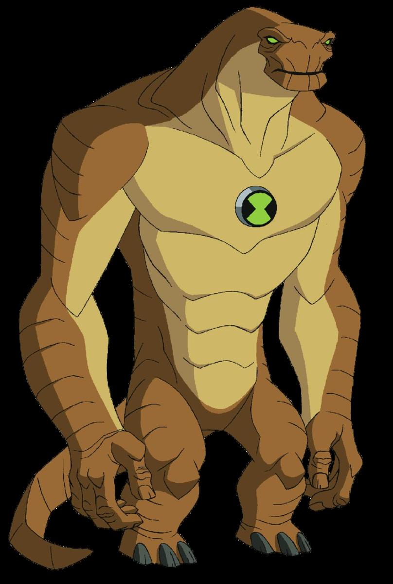 Humongousaur's appearance in Ben 10: Alien Force.