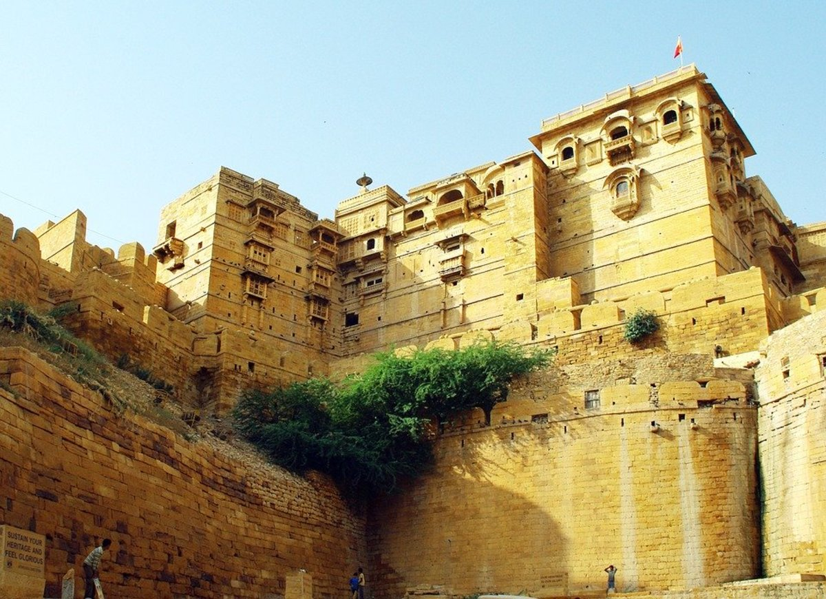 The Jaisalmer Fort, Jaisalmer, Rajasthan, India