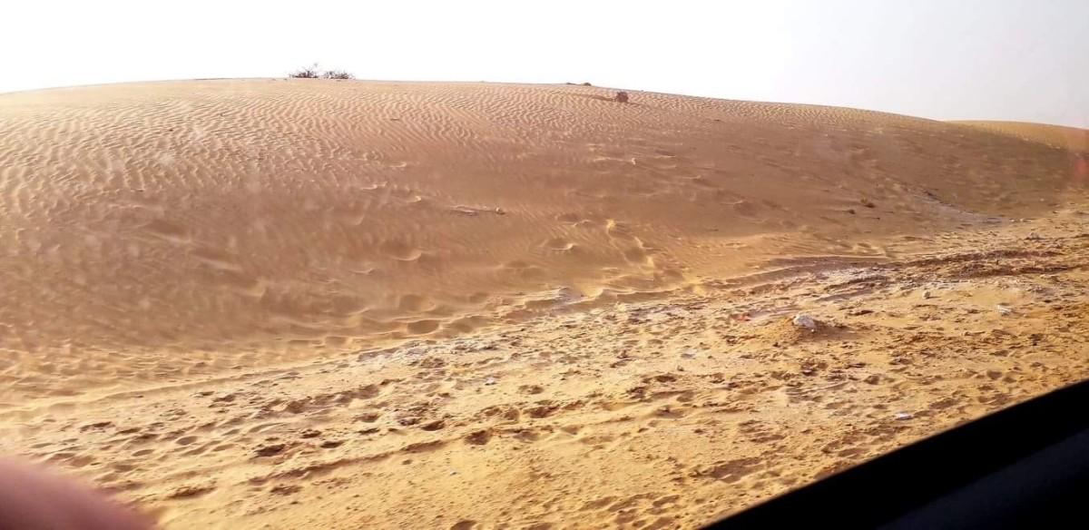 The Sam Sand dunes, Thar deserts, Rajasthan