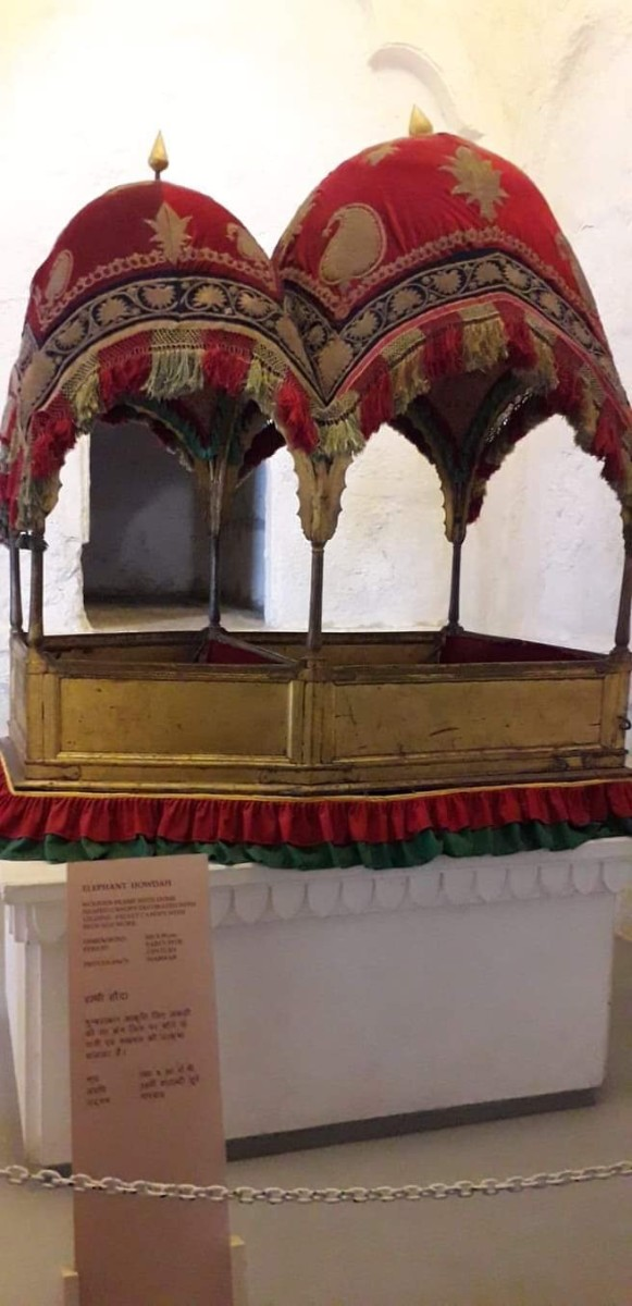 The Royal Carriage: Another Beautiful Howdah.