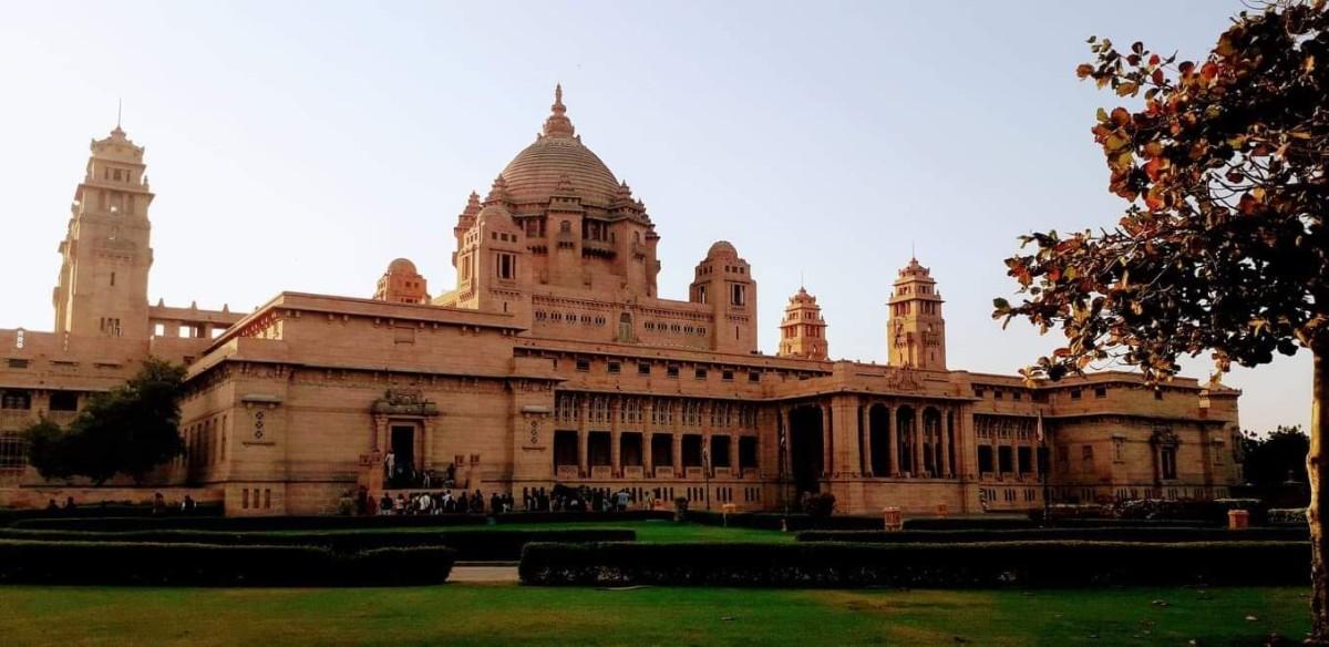 The Ummaid Bhavan Palace, Jodhpur, Rajasthan, India
