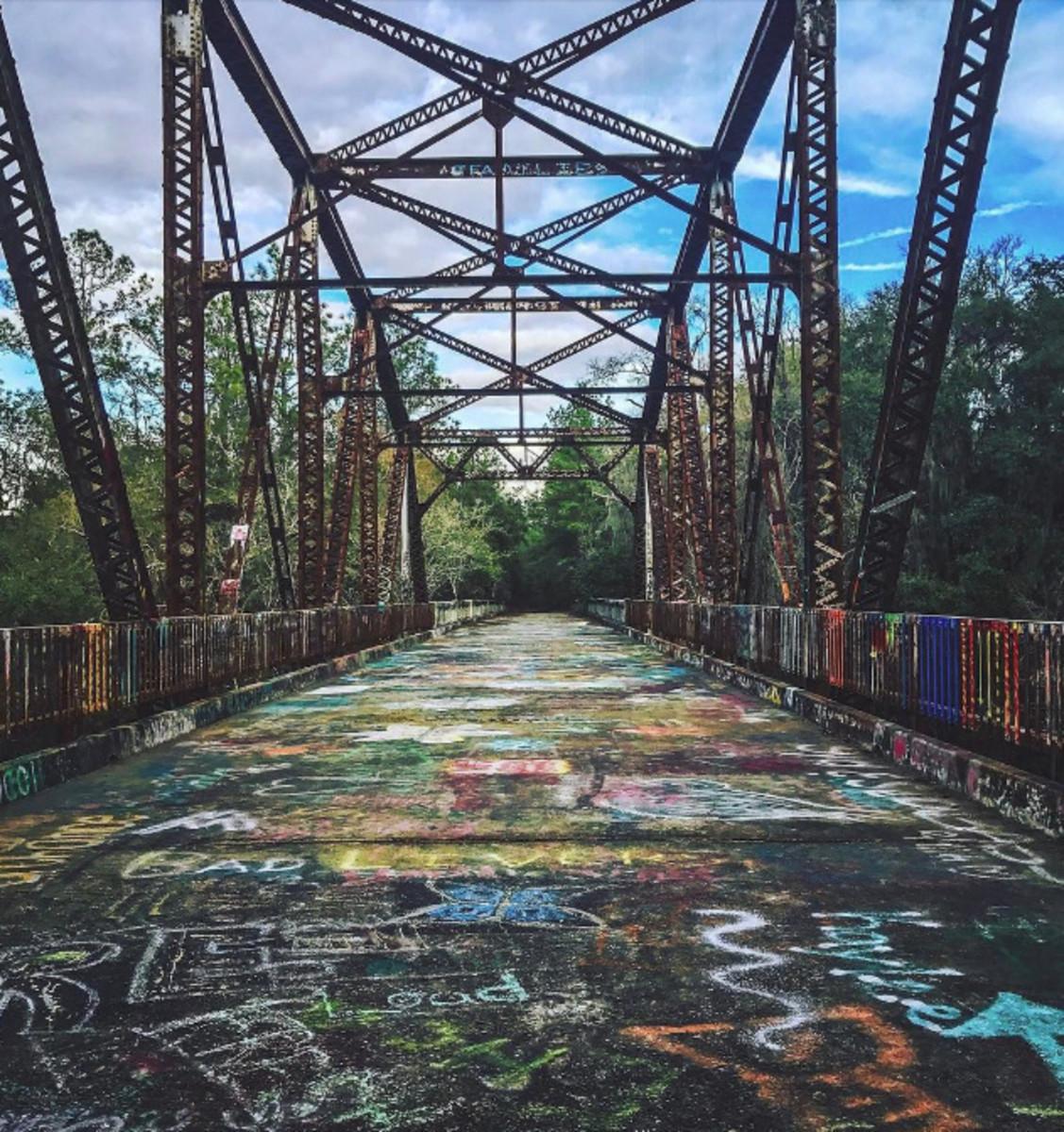 Suwannee Springs Bridge (Graffiti Bridge)