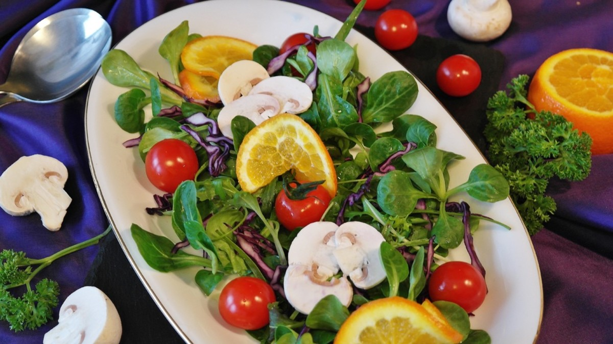 Add your mushrooms to salads to boost vitamin D levels.